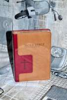 Holy Bible NIV (New International Version) Beige and maroon