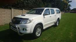 2013 Model Toyota Hilux With 3.0 Litre D4D AUTOMATIC