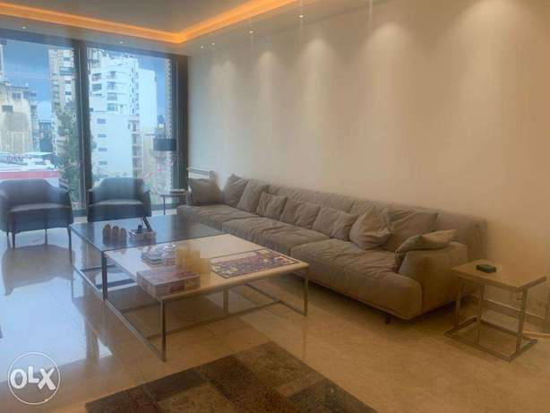 Achrafieh Modern luxurious 2 bedrooms furnished apartment for rent