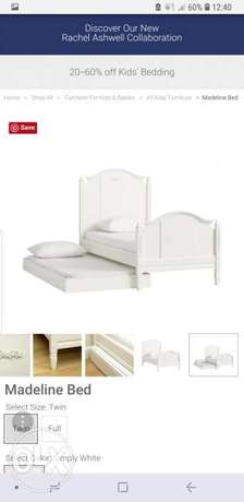 Pottery barn Madeleine bed