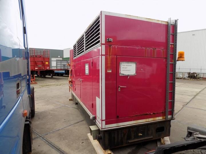 MAN silent 250 kva generator