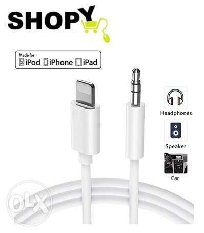 lightning to 3.5 Aux Audio Adapter cable