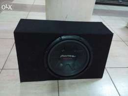 Pioneer Ts-W311 Woofer 1000 watts in space saving cabinet delivery CBD
