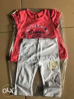 top and leggings for baby girl