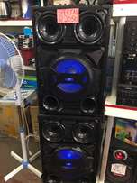 12000watts Speaker set with Amplifier and bluetooth