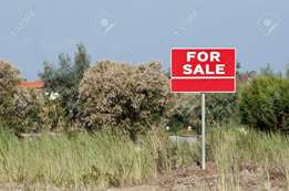 8.5 acres touching lower kabete road at 170 M per acre.