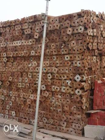Used scaffolding assorted for sale