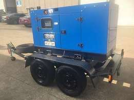 Super Silence Diesel Generator With Trailer