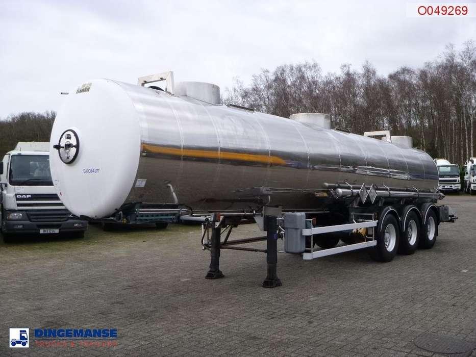 Magyar Chemical tank inox 22.3 m3 / 1 comp / ADR 05/2019 - 1998