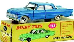 Model cars Dinky Toys