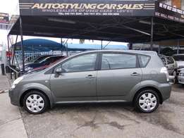 Autostyling Car Sales-East London-Toyota Verso 1.6i,low km's,Pristine