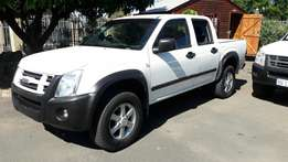 A Price dropped 2009 Isuzu KB250 2.5D Double cab D-Teq with 90000km!