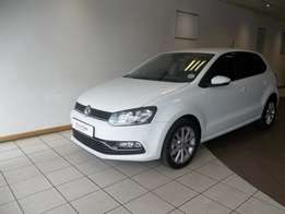 2016 Volkswagen Polo 1.2 TSI Highline 81 KW Demo Pure White