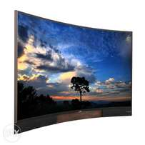 55' TCL smart curved tv on sale
