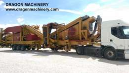 urgent-Mobile Crushing and Screening Plant DRAGON 10