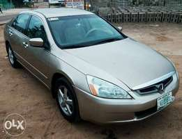A sparking very clean 2004 Honda Accord 4plugs engine for sales