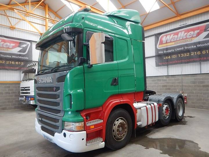 Scania R480 HIGHLINE 6 X 2 TRACTOR UNIT - 2011 - CS11 DAY - 2011
