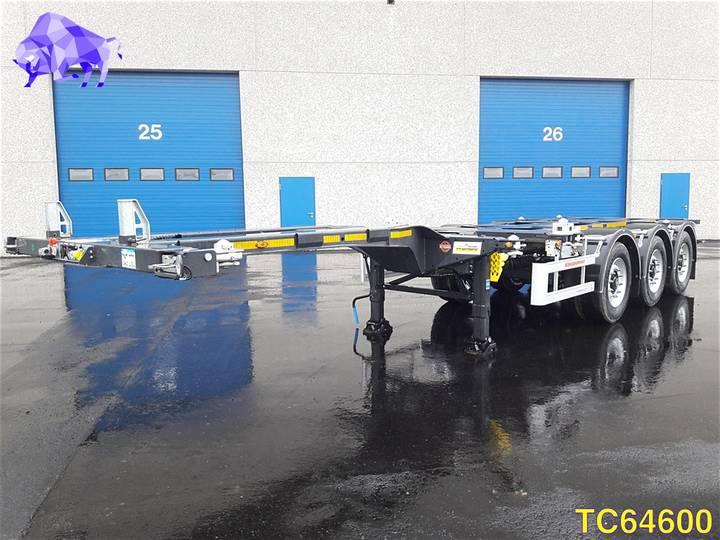 Kaessbohrer SHG AMH Container Transport