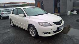 Mazda 3 1.6 sport dynamic, Cloth Upholstery, Hatch Back, 89000km,