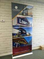 we do all types of ROLL UP Banners plus delivery