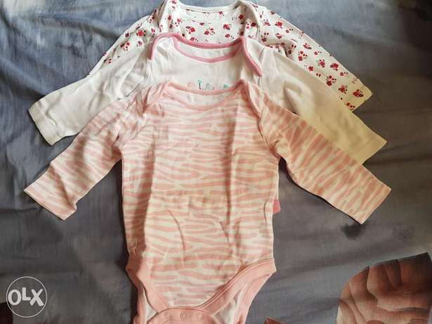 Slighty used mother care baby clothes 3 pcs
