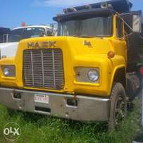 Dark Yellow R Model Short Tipper Truck