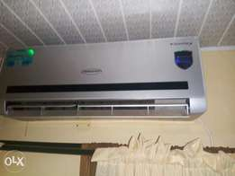 clean inverter air conditioner.thermofrost 1.5hp. works with generator