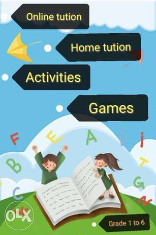 Online tution and offline tution for all subjects.