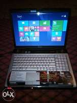 """17""""inches Toshiba gaming laptop with Nvidia graphic card."""
