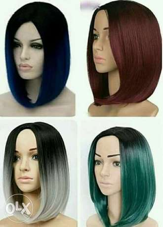 Quality human hair Bob wig at affordable price Lagos Mainland - image 1
