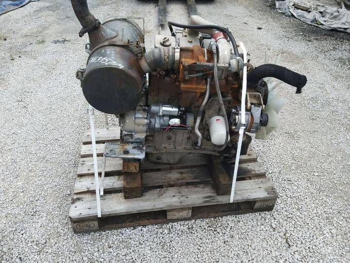 Cummins 4T-390 4 cylindrowy Turbo Mecalac 12 Engine Motor motor voor