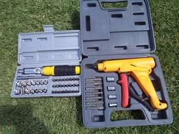 assorted hand operated socket sets