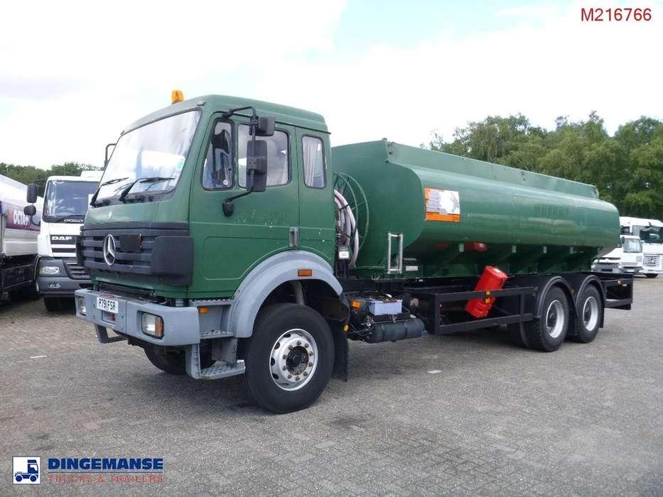 Mercedes-Benz SK 2527 6x4 fuel tank14 m3 / 5 comp - 1996