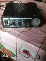 Amplifier with built in FM Receiver.