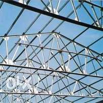 construction of steel trusses