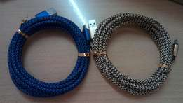 3 meter braided usb cable