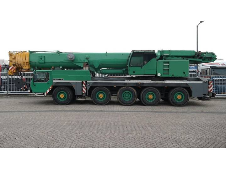 Liebherr LTM 1200-1 10X8X8 WITH JIB, TELMA, SECOND WINCH, SPECIAL ... - 2004
