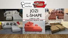 Jozi L Shape R3450 Straight from our Factory!
