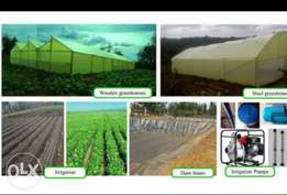 Green house at a more cheaper price and standard construction service
