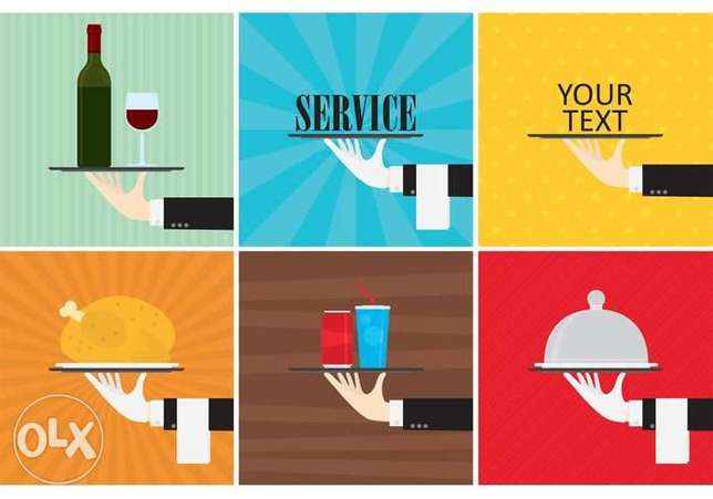 We have waiters service for events