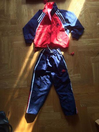 e6af396b75a0f1 Новый детский спортивный костюм Адидас красно-синий (см.замеры) Київ -  зображення