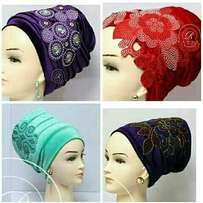 Ladies Ready to wear Turban with embroidery