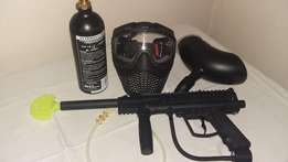 Paintball Gun + accessories