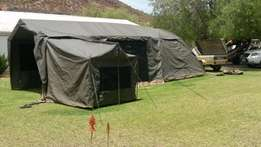 SNR Deluxe Combo Canvas Tent
