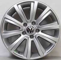 Vw amarok original 18'' mags 4x with 4x new tyres general grabber 255/