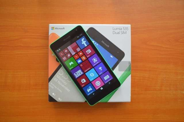 Microsoft Lumia 535 Dual Sim new and sealed in shop Nairobi CBD - image 2