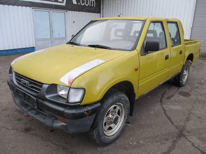 Opel Campo 3. TDS , 4x4 , Crew Cab - 1997