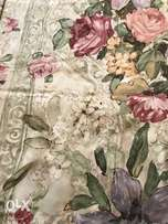 Stunning set of vintage floral curtains