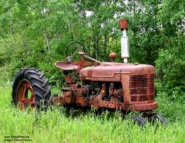 Wanted: old tractors