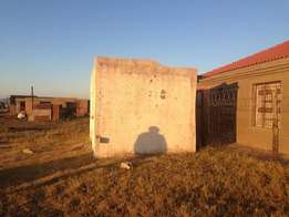 Two room house for sale